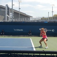 Photo taken at Court 12 - USTA Billie Jean King National Tennis Center by Tolga S. on 8/20/2014