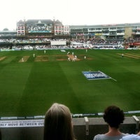 Photo taken at The Kia Oval by Mark H. on 8/25/2013