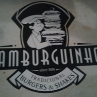 Photo taken at Hamburguinho by Amanda P. on 3/10/2013