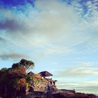 Photo taken at Tanah Lot Beach by Sly M. on 3/16/2013