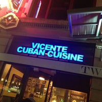 Photo taken at Vicente's Cuban Cuisine by Cosmin G. on 1/15/2013