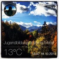Photo taken at IG Metall Jugendbildungszentrum Schliersee by Rico I. on 10/18/2013