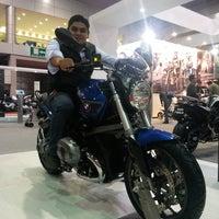 Photo taken at Salon Internacional De La Motocicleta by Rodrigo L. on 11/16/2013