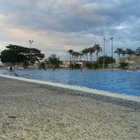 Photo taken at Piscinas Olimpicas by Julio Cesar H. on 12/18/2012