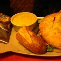 Photo taken at Panera Bread by Jen R. on 2/26/2013
