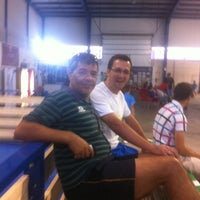 Photo taken at Padelmerida Indoor by Rous R. on 6/15/2013