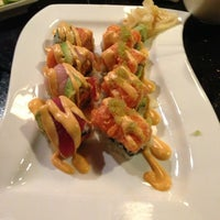 Photo taken at Sakura Japanese Steak House by Vince on 3/14/2013