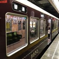 Photo taken at Sakaisuji Line Minami-morimachi Station (K13) by Taka c. on 9/19/2017
