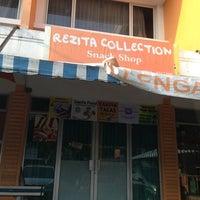 Photo taken at Rezita Collection Snack Shop by Shandra U. on 9/4/2013