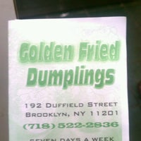 Photo taken at Golden Fried Dumpling by Sherina D. on 4/12/2013