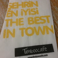 Photo taken at Timboo Cafe by Tugba A. on 3/8/2013