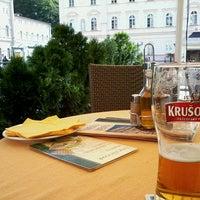 Photo taken at Restaurant hotelu Růže by Bina S. on 7/16/2013
