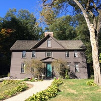 Photo taken at Louisa May Alcott's Orchard House by Heather G. on 10/8/2015