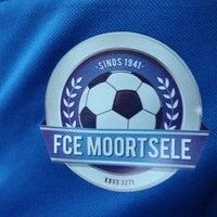 Photo taken at FC Moortsele by Ulrik ⚓. on 10/3/2014