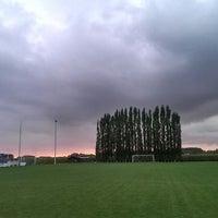 Photo taken at FC Moortsele by Ulrik ⚓. on 10/4/2013