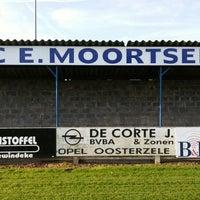 Photo taken at FC Moortsele by Ulrik ⚓. on 10/4/2014