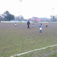 Photo taken at FC Moortsele by Ulrik ⚓. on 2/16/2013