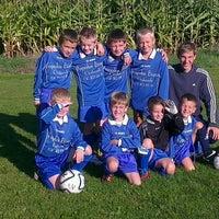 Photo taken at FC Moortsele by Ulrik ⚓. on 9/22/2012