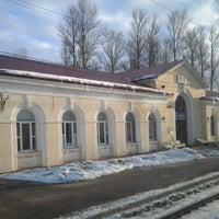 Photo taken at Ж/д Станция мга by Екатерина С. on 3/11/2013