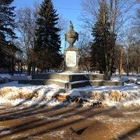 Photo taken at Площадь Жертв Революции by Роман Г. on 3/14/2013