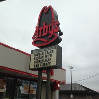 Photo taken at Arby's by Alex B. on 2/28/2013