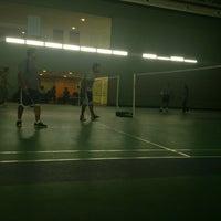 Photo taken at prestige shantiniketan badminton court by Aravind M. on 3/14/2013