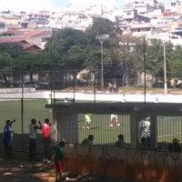 Photo taken at Campo de Futebol do Palmira by Thiago G. on 3/9/2014