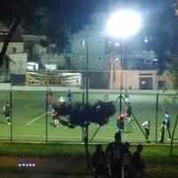 Photo taken at Campo de Futebol do Palmira by Thiago G. on 2/5/2014