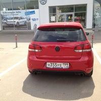 Photo taken at Volkswagen Центр Варшавка by Дмитрий П. on 6/4/2013