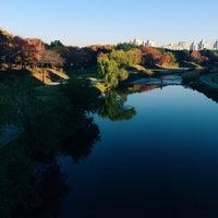 Photo taken at 오리교 by zzun on 11/3/2014
