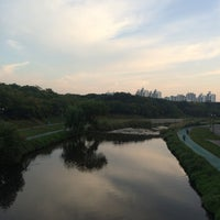Photo taken at 오리교 by zzun on 9/22/2014