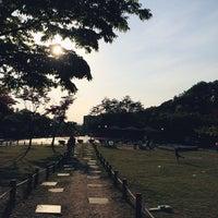 Photo taken at 갈미한글공원 by zzun on 5/17/2014