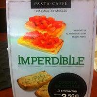 Photo taken at Pasta Caffé by Cláudia O. on 3/13/2013