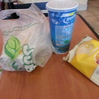 Photo taken at SUBWAY by Rich T. on 4/4/2013