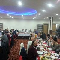 Photo taken at Bilge Hotel Restaurant by Ali K. on 3/12/2014