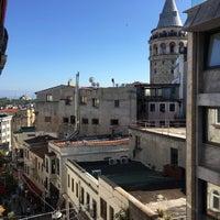 Photo taken at Duo Galata Hotel by Özlem K. on 8/25/2017