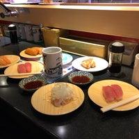 Photo taken at 江戸前回転寿司 魚臣ぎょしん 自由が丘店 by Yezi E. on 10/28/2017