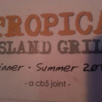 Photo taken at tropica island grill: Soon To Be Sugar House by Ashley S. on 7/18/2013