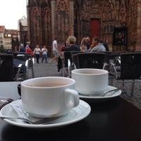 Photo taken at Gelateria Eis Café La Fenice by Reem A. on 8/4/2015