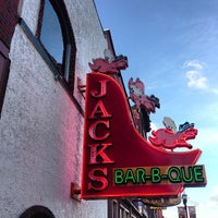 Photo taken at Jack's Bar-B-Que by Micah F. on 5/31/2013