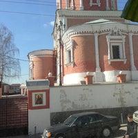 Photo taken at Храм святых апостолов Петра и Павла by Любовь С. on 4/23/2013
