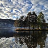 Photo taken at Sognsvann by Dmitry B. on 9/29/2013