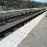 Photo taken at Forest Lane Station (DART Rail) by Antonio P. on 3/22/2013