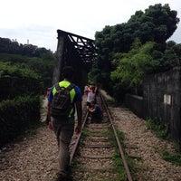 Photo taken at Kranji Railway Train Crossing   Kranji Heritage Trail by ,7TOMA™®🇸🇬 S. on 9/6/2014