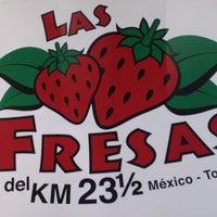Photo taken at Las Fresas del Km 23 y 1/2 by Jess T. on 5/21/2013