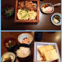 Photo taken at うなぎと和食 いとう by P. Dao on 4/23/2015