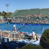 Photo taken at Delray Beach International Tennis Championships (ITC) by Alvaro G. on 2/26/2017
