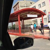 Photo taken at Esenler Metro İstasyonu by Onur T. on 5/4/2013