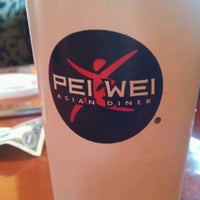 Photo taken at Pei Wei by Ashley S. on 3/20/2013