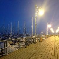 Photo taken at Larnaca Marina by Vladimir P. on 10/9/2013